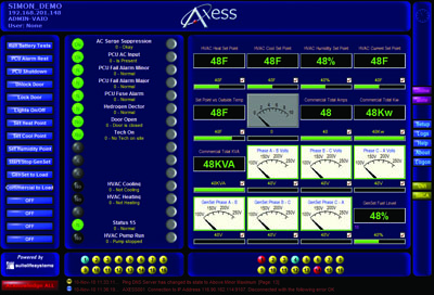 Axess Main Screen